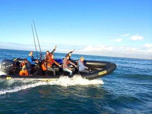 RIB Actie Scheveningen - Rib PowerBoat Experience -3