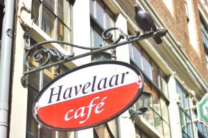 Cafe Havelaar - Sign