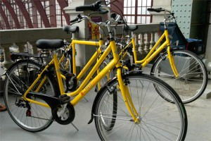 Levanto_fietshaven_-_rental_bikes