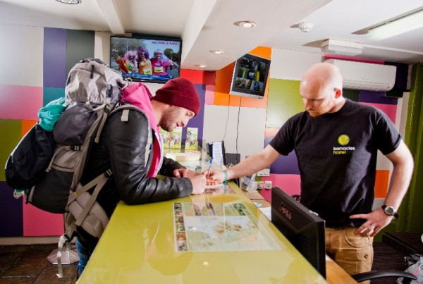 Barnacle_Galway_Hostel_-_Reception