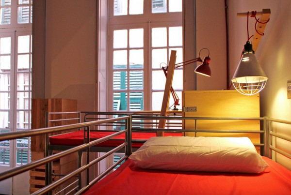 Ostellin_Genova_Hostel_-_Hostelbed