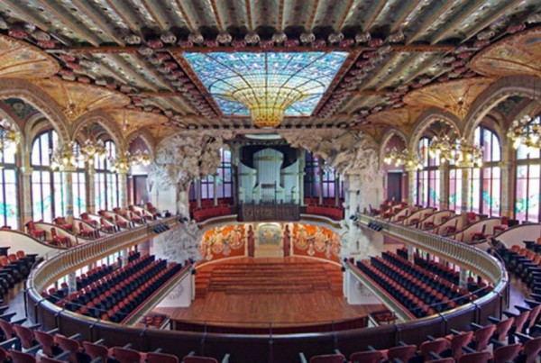 Palau de la Musica Catalana hall