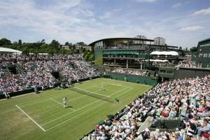 Wimbledon Tour tennis court