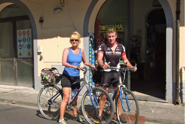 Bike rental Pisa