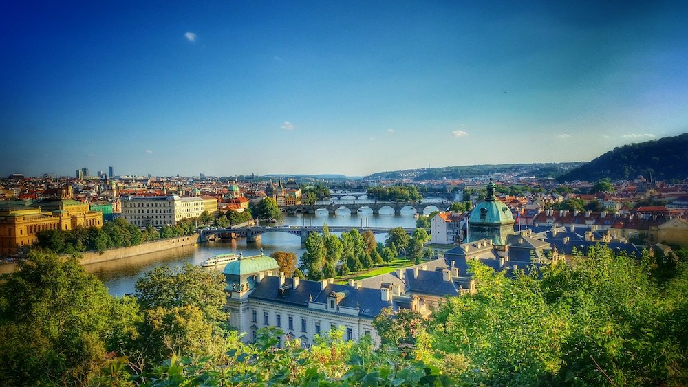 The views are one of the reasons to visit prague